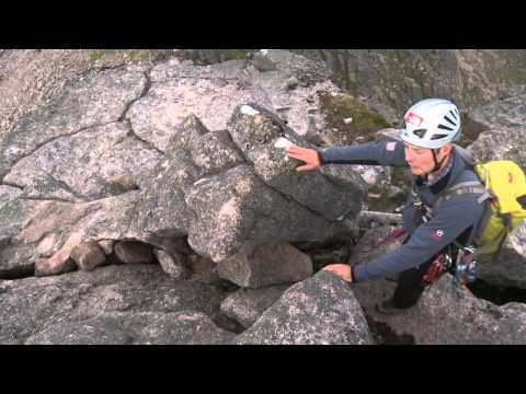 Using the Rope to Pitch a Section of a Scramble