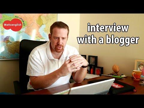 English teaching kids   Interview with a blogger   Wattsenglish