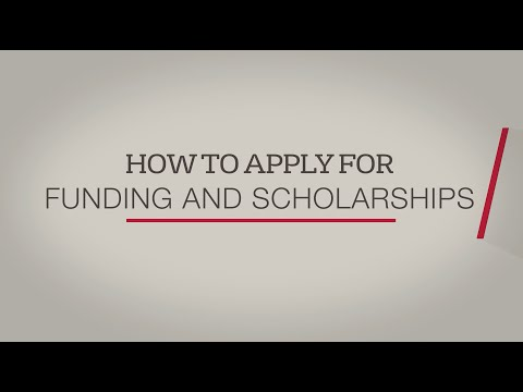 How to apply for funding and scholarships at the University of Bristol