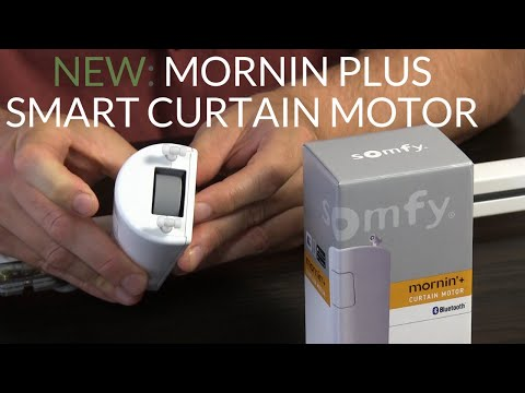 Automate your curtains with the Mornin plus - app control