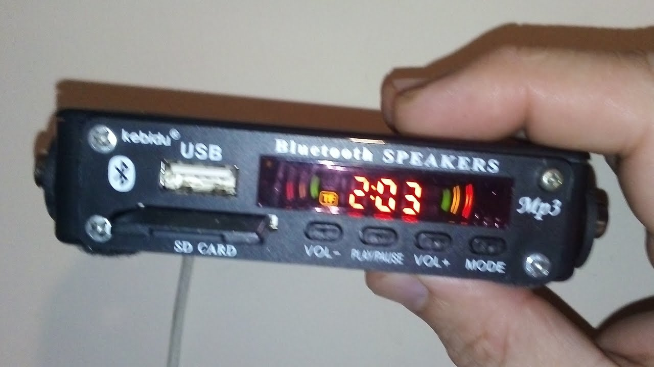 Download Convert old music system to USB, Bluetooth, aux, FM, SD Card