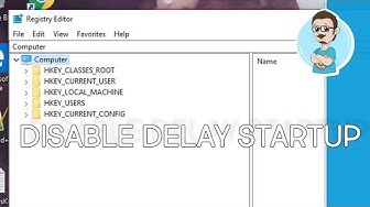 Disable Windows 10 Startup Delay!