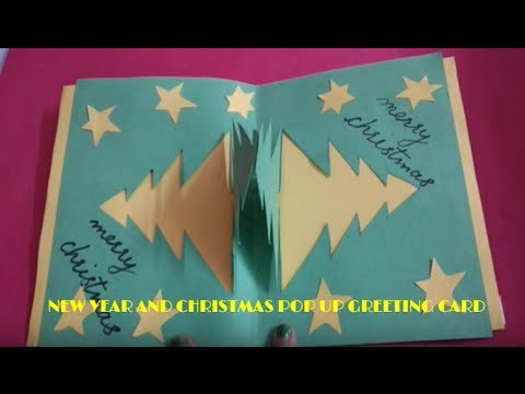 Pop Up Christmas And New Year Greeting Card Design - YouTube