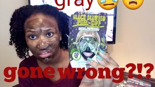 TRYING CHEAP FACE MASK IT 39 S NOT SUPPOSED TO BE GRAY