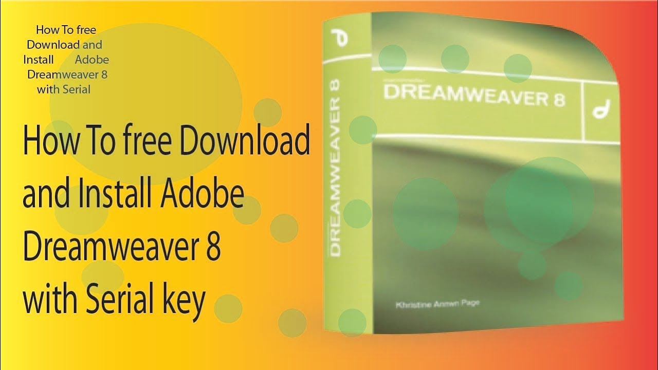 dreamweaver free download full version