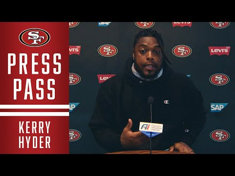 Kerry Hyder Jr. Discusses Sack Celebration Tribute to Nick Bosa | 49ers