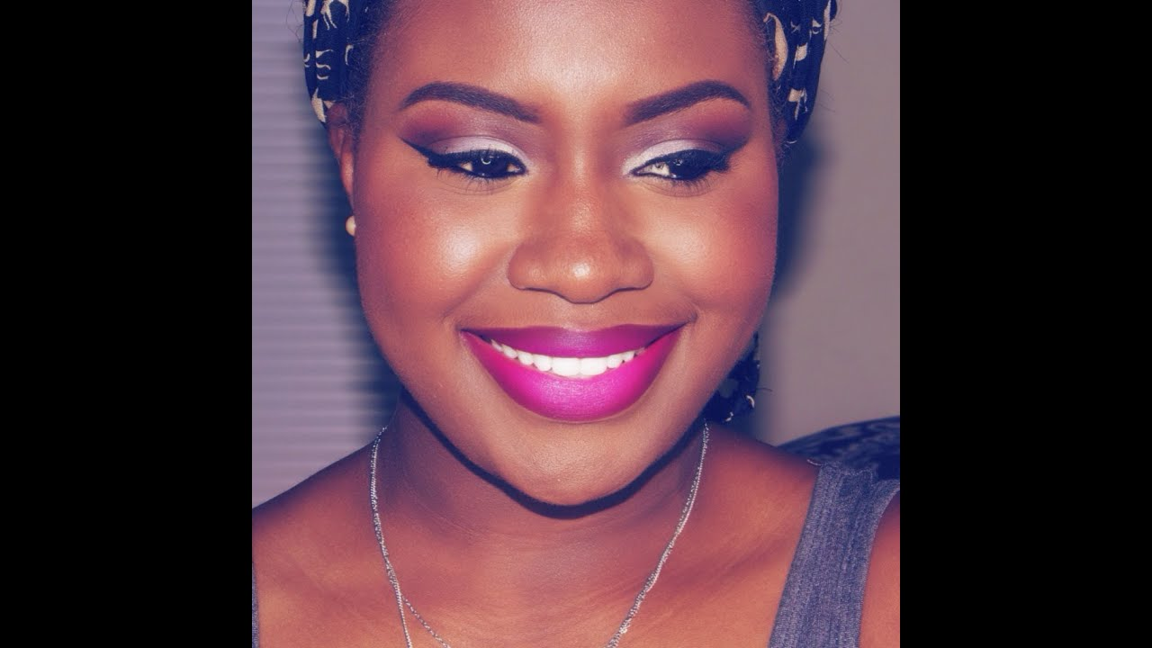 Molto ♥ Summer Make Up Ft MAC Flat Out Fabulous On Dark Skin - YouTube JC29
