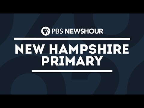 WATCH: Special Coverage Of The 2020 New Hampshire Primary