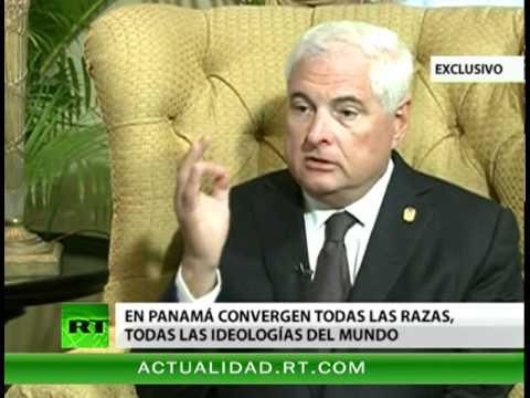 Entrevista con Ricardo Martinelli, presidente de la República de Panamá