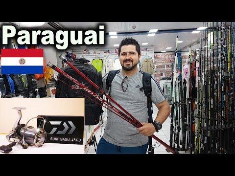 Compras no PARAGUAI - Visitamos várias lojas de PESCA - Casa Japon - Marine Sports - Sumax