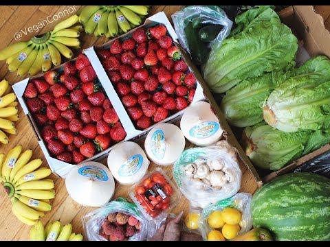 HCLF VEGAN FRUIT + VEG HAUL || 98$!?!?