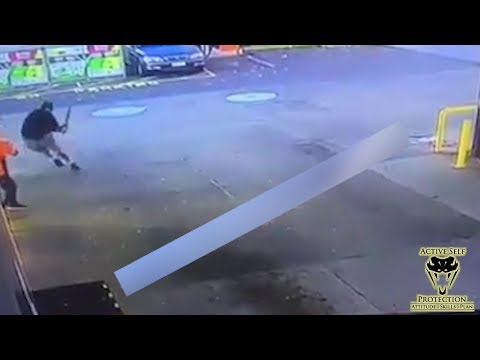 Clerk Takes the Fight to Robbers with Bats | Active Self Protection