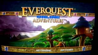 Testing EverQuest Online Adventures on PS2 in 2016