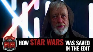 Baixar How Star Wars was saved in the edit