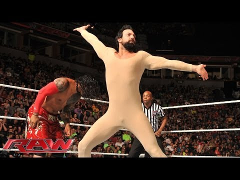 The Usos vs. Damien Sandow & Fandango: Raw, June 9, 2014