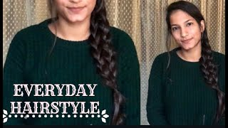Quick & Easy Braided Hairstyle | Hairstyle Tutorial 2019