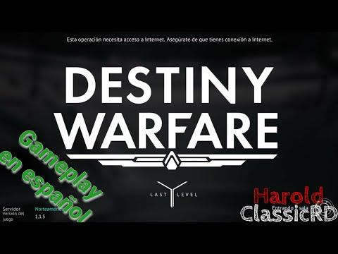 Manqueando en multijugador 😸 | DESTINY WARFARE gameplay en español | Harold ClassicRD
