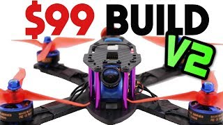 Build a PRO FPV Racing Drone for ONLY $99 Full guide - 2018 UAVFUTURES $99 Build