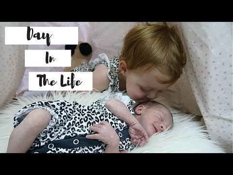 DAY IN THE LIFE WITH A NEWBORN AND TODDLER