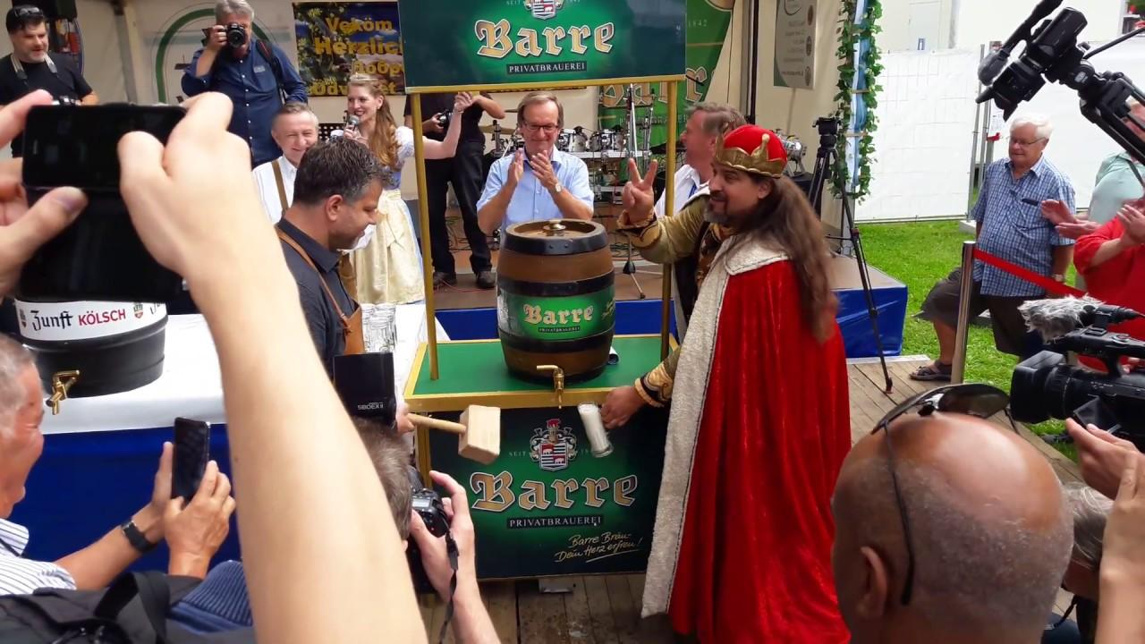 Eröffnung Internationales berliner bierfestival 2017 - YouTube