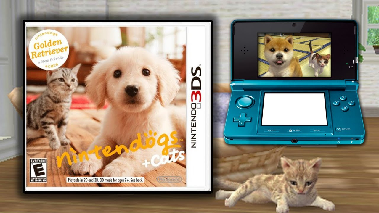 Nintendogs + Cats: Walkthrough / Gameplay