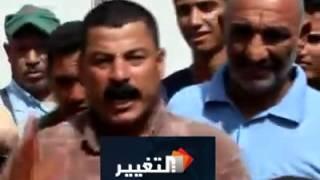 متظاهر من كربلاء تروحون فدوة لصدام حسين !!