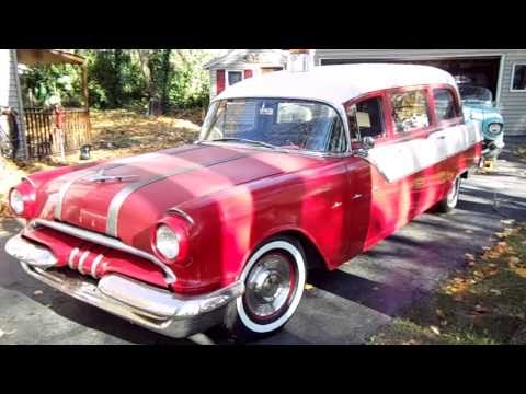SOLD~~1955 Pontiac Starchief Ambulance by Superior For Sale