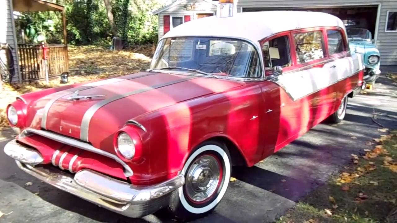 SOLD~~1955 Pontiac Starchief Ambulance by Superior For Sale - YouTube
