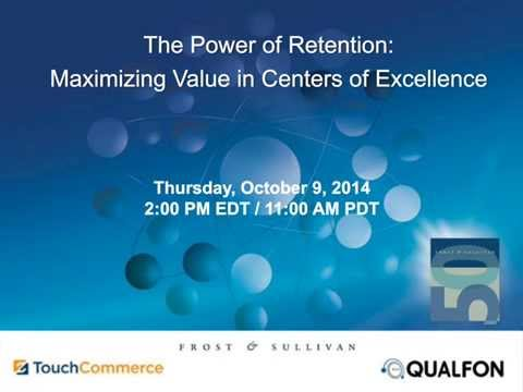 Webinar - The Power of Retention: Maximizing Value in Centers of Excellence