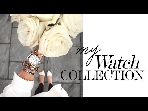 MY WATCH COLECTION // Ladies Timepieces 2017