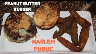 Peanut Butter Burger & Avocado French Fries On Let's Get Greedy! Food Review #39