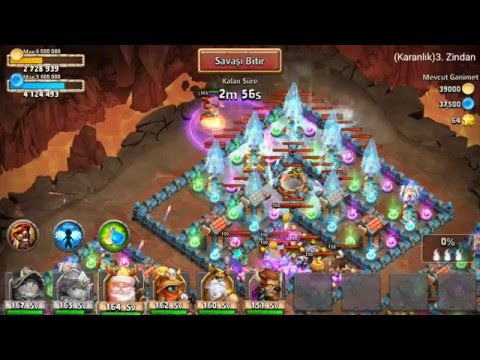 Castle Clash Insane Dungeon 3/6