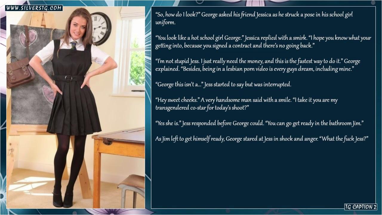 Tg Caption Schoolgirl 2