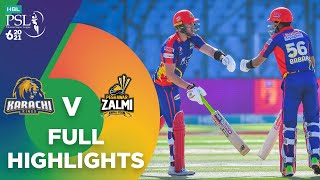 Full Highlights | Karachi Kings vs Peshawar Zalmi | Match 13 | HBL PSL 6 | MG2T
