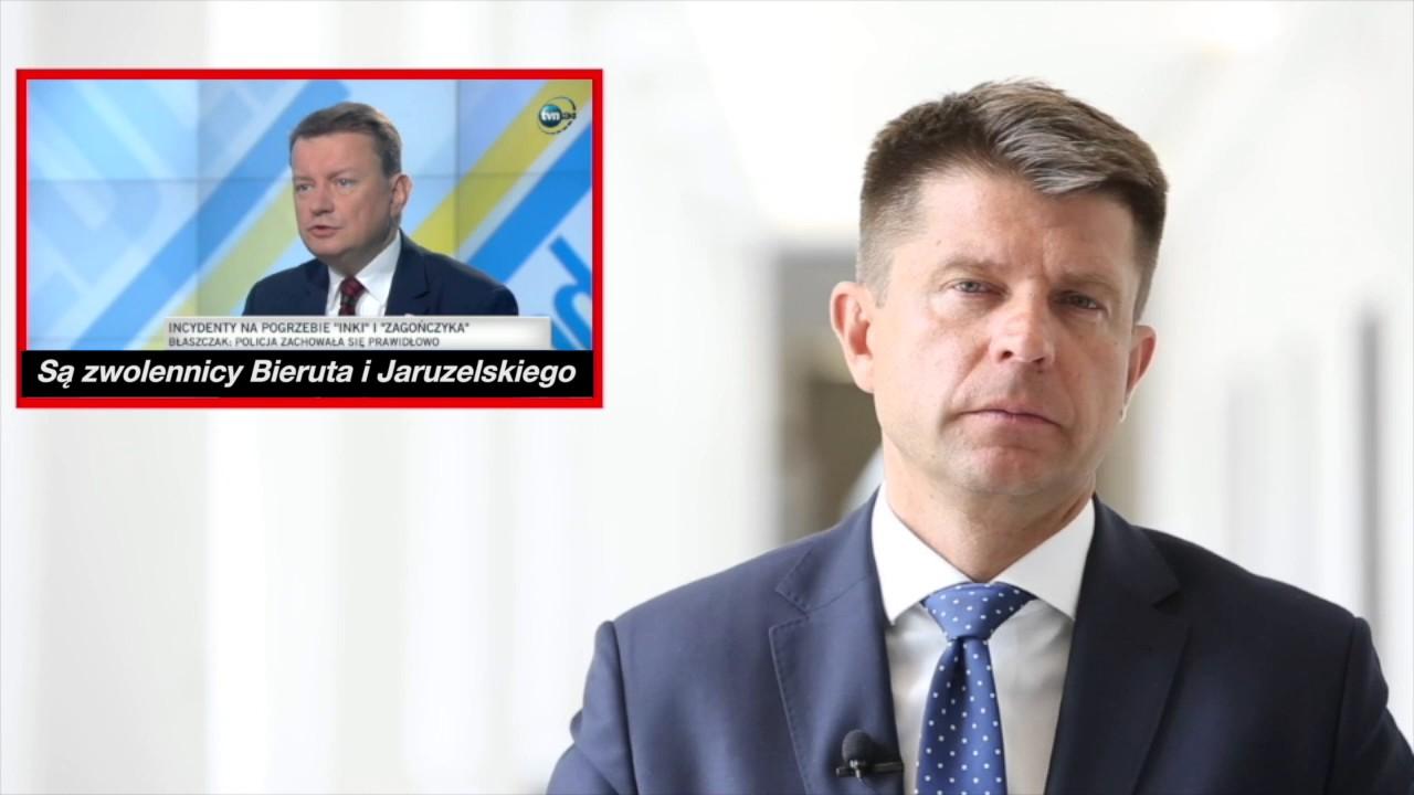 Dlaczego Nowoczesna głosowała za odwołaniem ministra Błaszczaka?