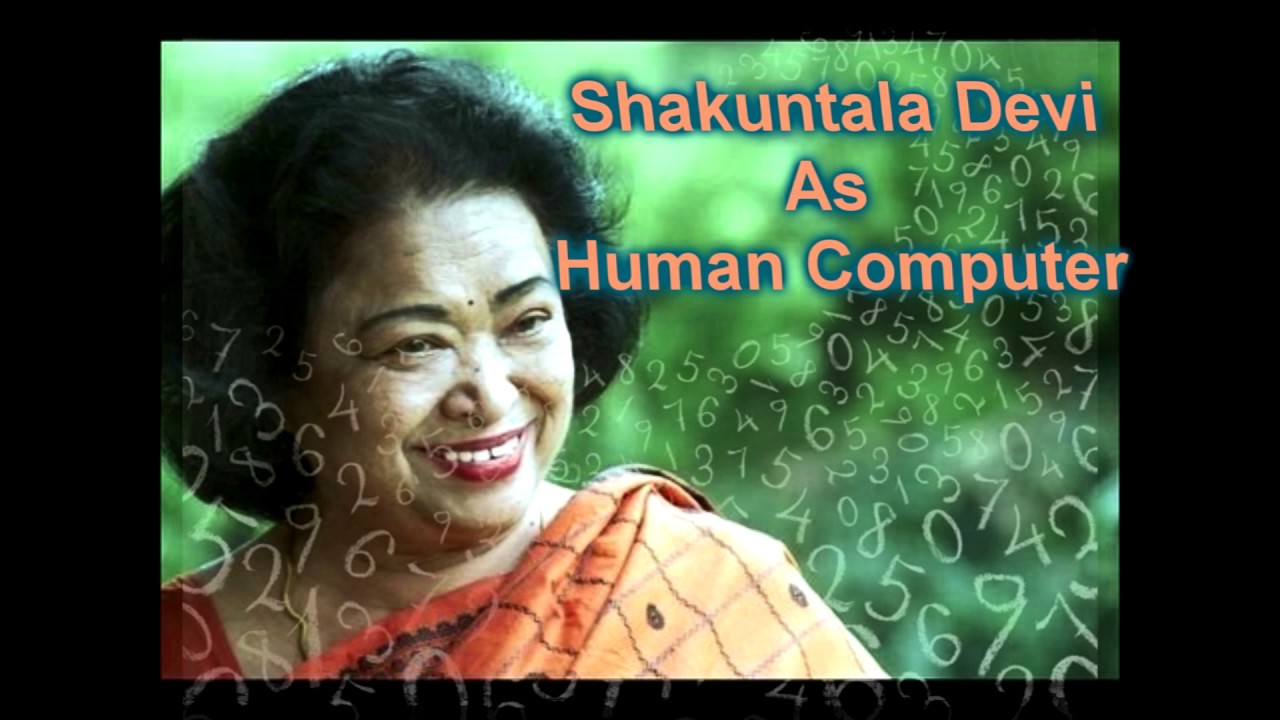 Genuis World Record Holder Shakuntala Devi Human