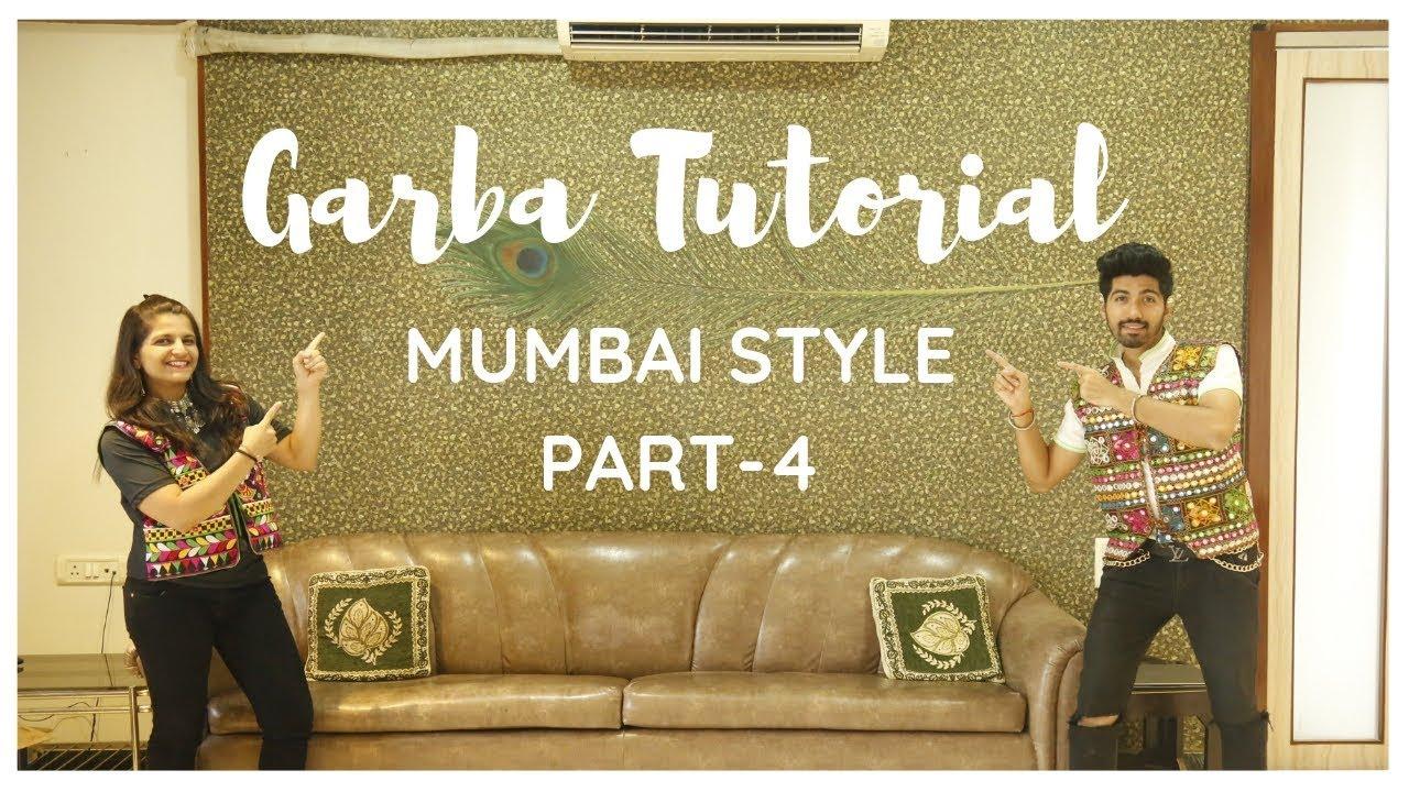 Garba Tutorial Video | Garba Steps Video | Learn Garba | Mumbai Style | Jenish Doshi | Part-4