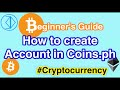 How to Create an Account in Coins.Ph