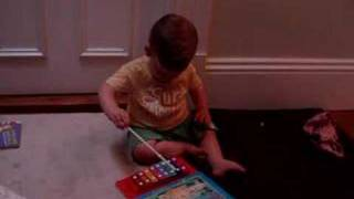 Ronan and his incredible xylophone skills