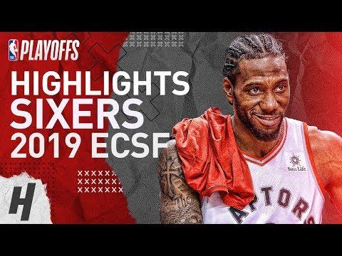 Kawhi Leonard Full Series Highlights vs 76ers | 2019 NBA Playoffs ECSF