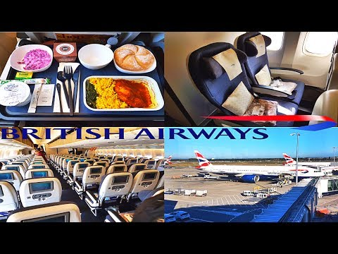 Boeing 777 BRITISH AIRWAYS ECONOMY|London to Bahrain to Doha