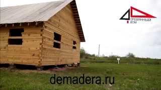 Видео-отзыв 17.05.14(Героиня этого отзыва рассказывает о строительстве дома из бруса в компании
