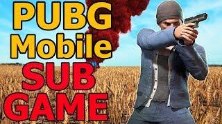 PUBG MOBILE SUB GAMES