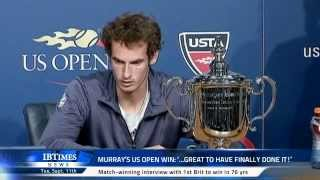 Murray's US Open win: '...great to have finally done it!'