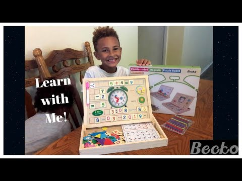 becko-double--sided-magnetic-puzzle-board-|-review-&-opening