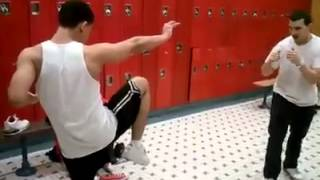 IDIOT gets KNOCKED OUT !  Martial Arts are only as good as the person doing them!