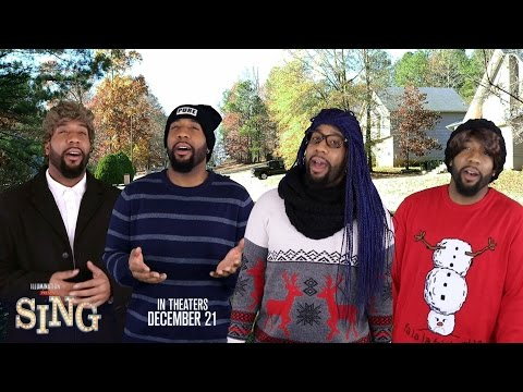 Starrkeisha's Christmas Carols! @TheKingOfWeird Powered by Universal's 'SING'