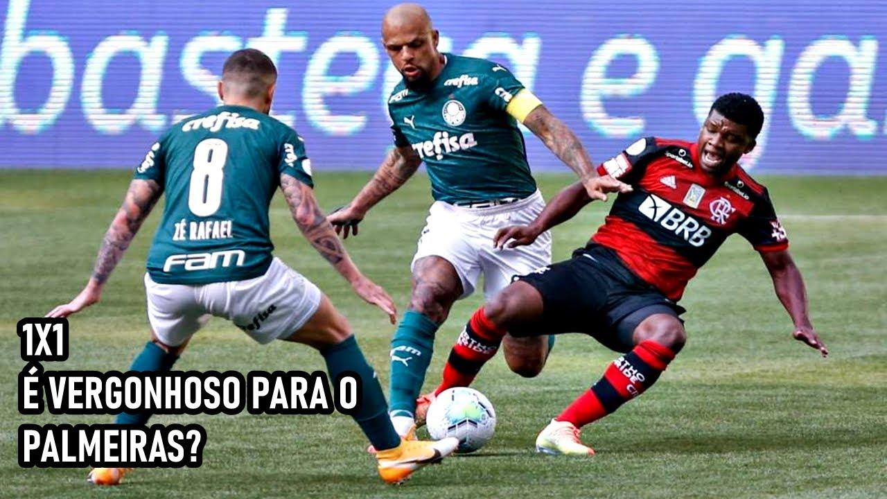 O empate contra o Flamengo, é uma VERGONHA para o Palmeiras? Palmeiras 1x1 Flamengo - 2020