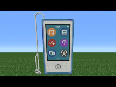 Minecraft Tutorial: How To Make An Ipod