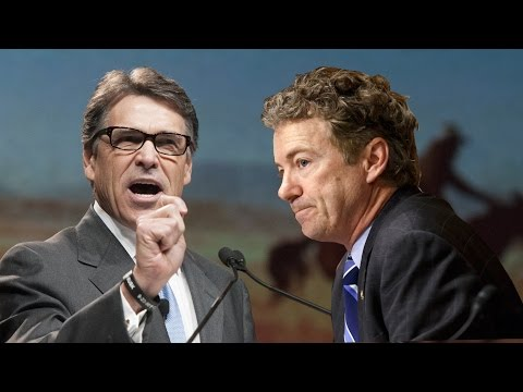 Rick Perry Lays Smackdown on Rand Paul in Washington Post